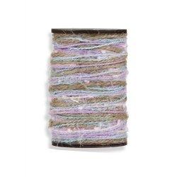 Rollo de yute de varios colores. 15 metros