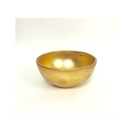 Cuenco-bowl dorado 15x7 cms