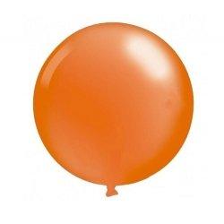 Globo gigante naranja. Aprox 1 m