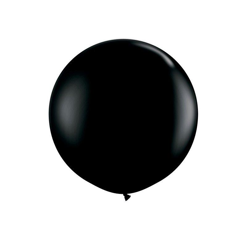 Globo gigante negro. Aprox 1 m