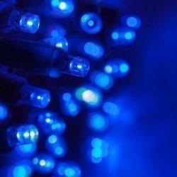 Guirnalda de luces de Navidad. 120 bombillas led azul