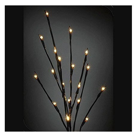 Rama con 64 luces blancas. 1 metro