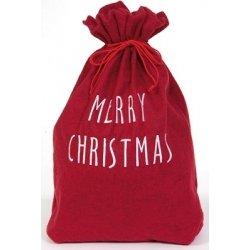 Saco rojo para regalos. Merry Christmas