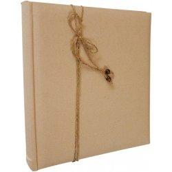 Libro-album de firmas, fotos y scrapbook. Kraft.