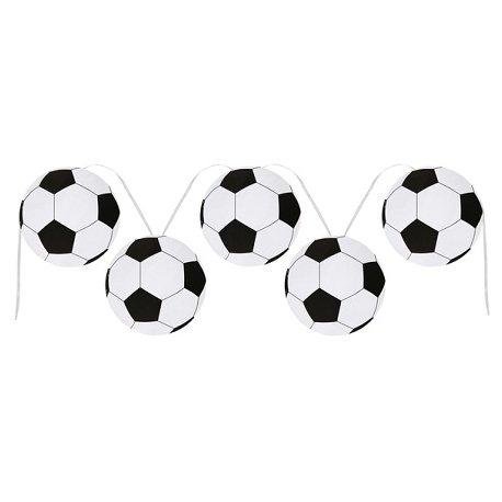 Guirnalda balones de futbol