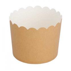 25 Tarrinas-cápsulas de papel kraft.
