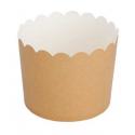 25 Tarrina-cápsulas de papel kraft. Fecha de servicio 07.09.18