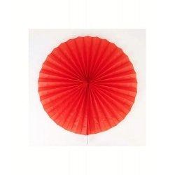 2 Abanicos rojos. 20 cms