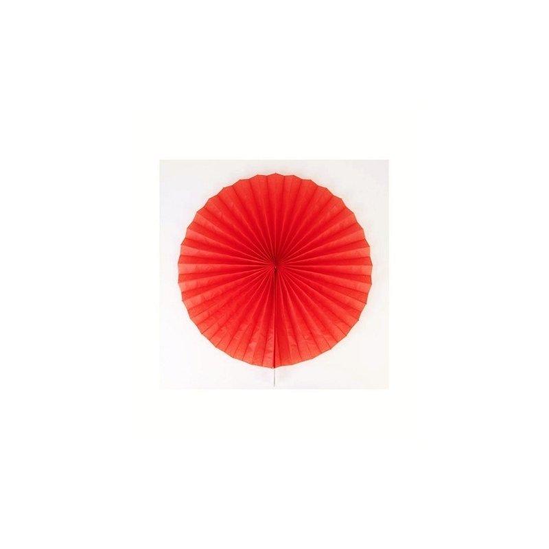Abanico rojo. 35 cms