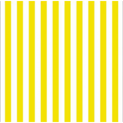 20 Servilletas de papel, rayas amarillas