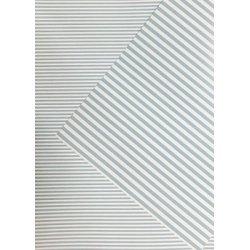 10 Hojas de papel A4, impreso a doble cara. Rayas azul claro.