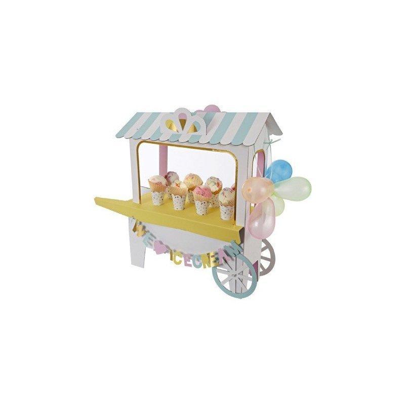 Carro-stand para helados y chuches