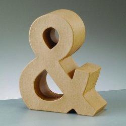 Letra & 17.5 cms - Ampersand kraft