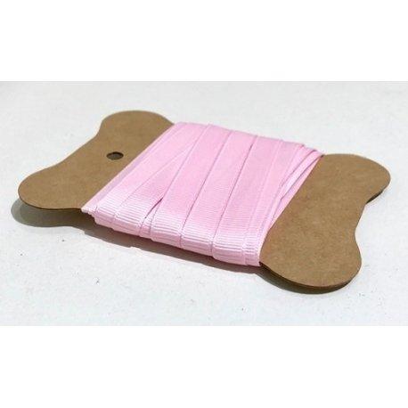 5 metros de cinta de regalo. Otomán rosa