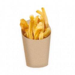 25 Vasos kraft para chuches ó fritos. 480 ml.