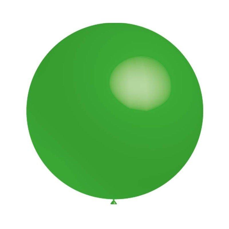Globo gigante verde, de Aprox 1 m de diámetro