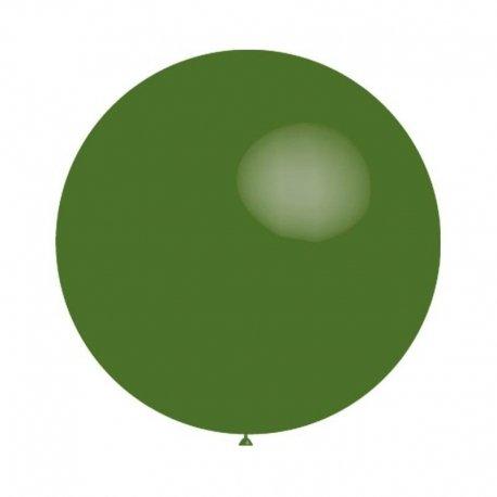 Globo gigante verde oscuro, de Aprox 1 m de diámetro