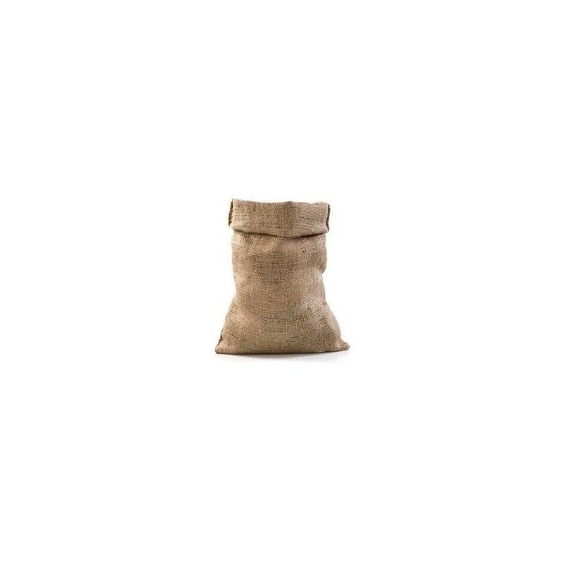 Saco de yute natural de 28x29 cms
