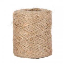 Cuerda / cordón de yute 100 grs. Natural