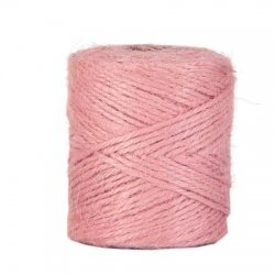Cuerda / cordón de yute 100 grs. Rosa