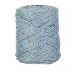Cuerda / cordón de yute 100 grs. Azul claro