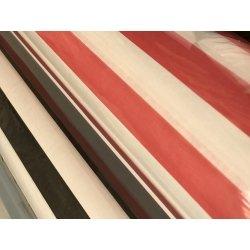 Bobina de papel de regalo, Rayas blancas y negras