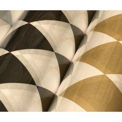 Bobina de papel de regalo, Rombos dorados