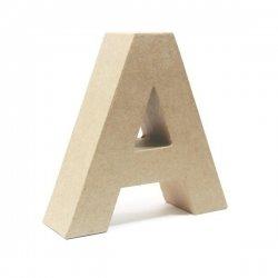 Letras de cartón. De la A a la Z