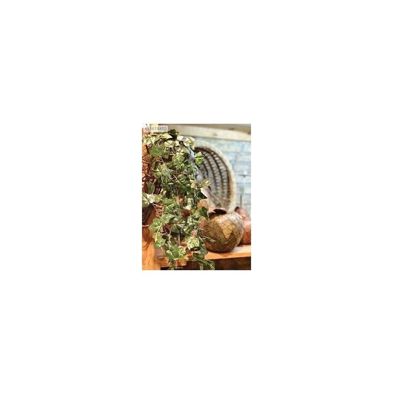 11 metros de guirnalda alambrada, hojas de hiedra