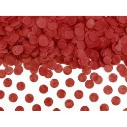 15 Grs de Confeti redondo, Rojo