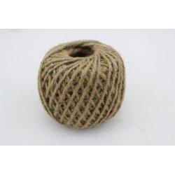 Cuerda / cordón de yute 250 grs/80 m. Natural