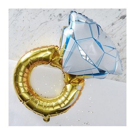 Globo anillo de brillante