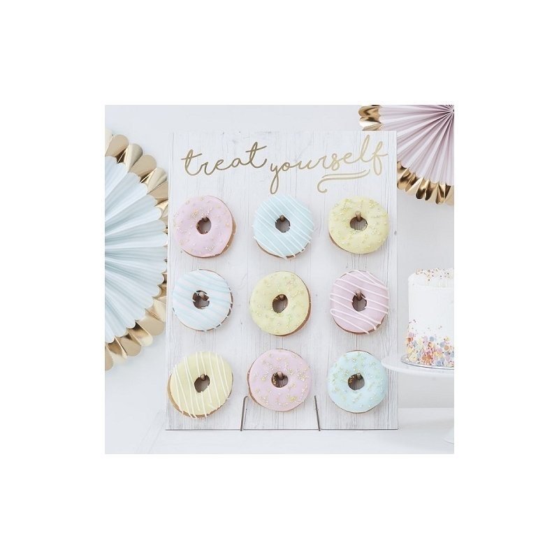 Panel expositor para Donuts.