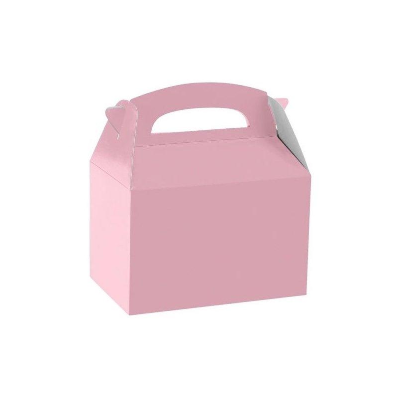5 Cajas picnic rosa.
