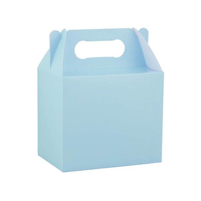 4 Cajas picnic Azul claro