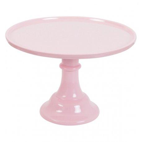 Cake Stand de melamina rosa. Tartas y cupcakes
