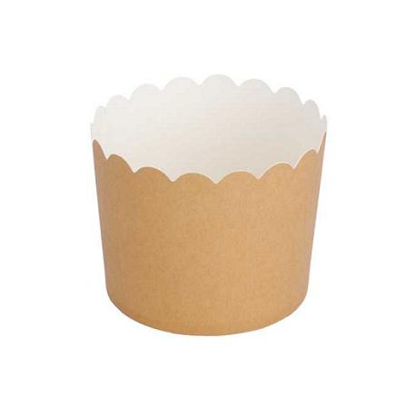 150 Tarrinas-cápsulas de papel kraft.
