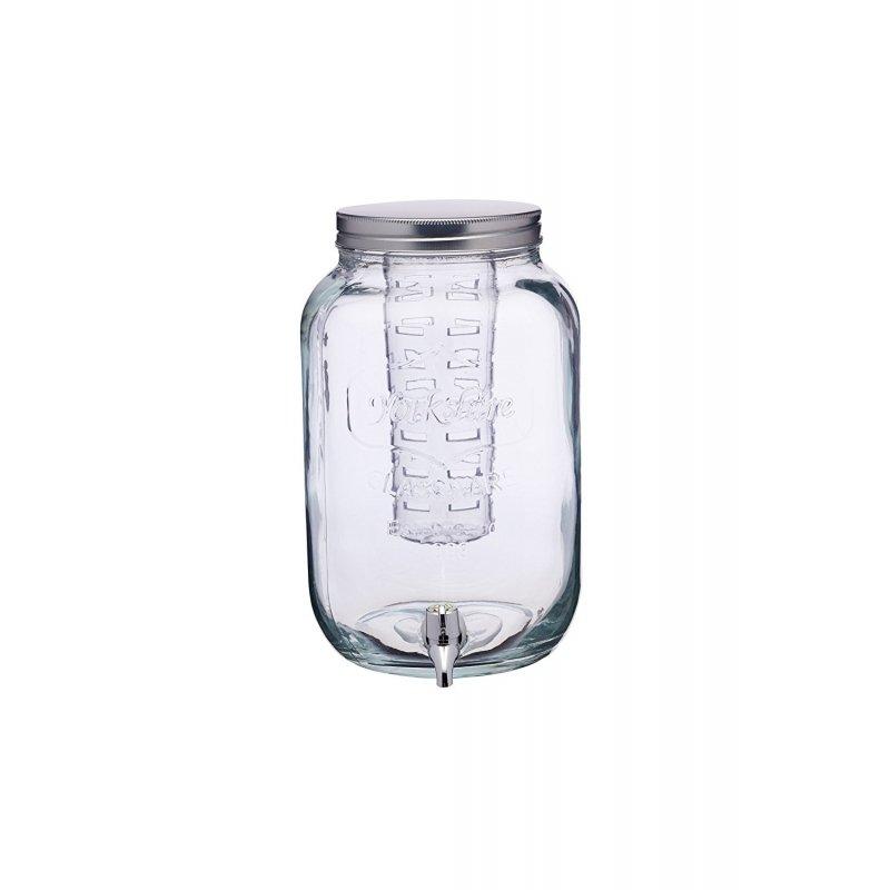 Dispensador de bebidas, con enfriador y grifo. 8 litros.