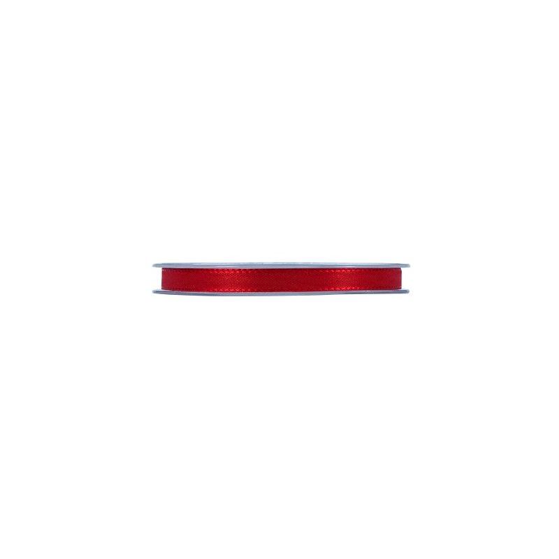 Cinta taft roja. 10 mm x 50m