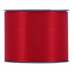 Cinta taft roja. 91 mm x 25 m
