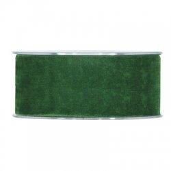 Cinta de terciopelo Verde Oscuro 40mmx7m. AGOTADO