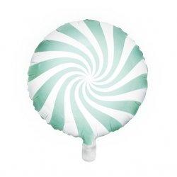 Globo metalizado Caramelo Mint