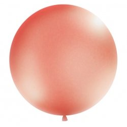 Globo gigante oro rosa. 60 cms