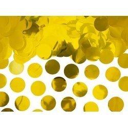 15 Grs de Confeti metalizado oro