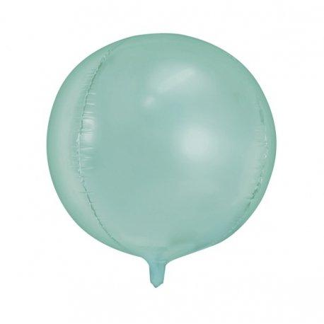 Globo metalizado esfera mint Agotado temporalmente