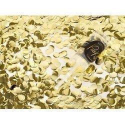 Push pop con Confeti metalizado dorado