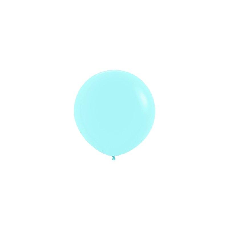 Globo 60 cms. Azul pastel