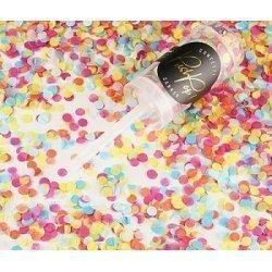Push pop con Confeti multicolor