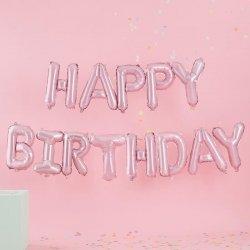 Globos Happy Birthday, Rosa.