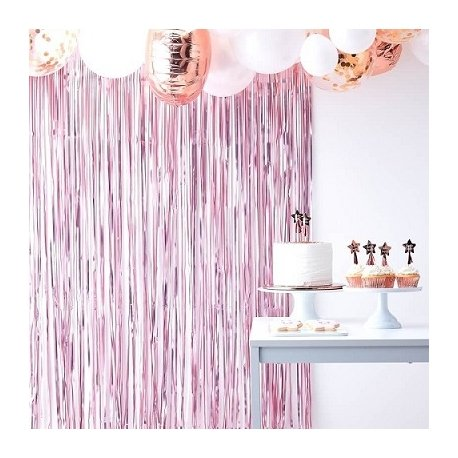 Cortina rosa mate - Fondo photocall - Back drop.